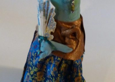 courting frog art doll by karen shifton - 04