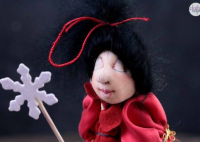 fairy 24 - cloth magic art doll by karn shifton