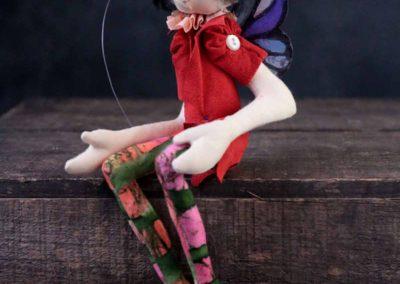 fairy 6 - cloth magic art doll