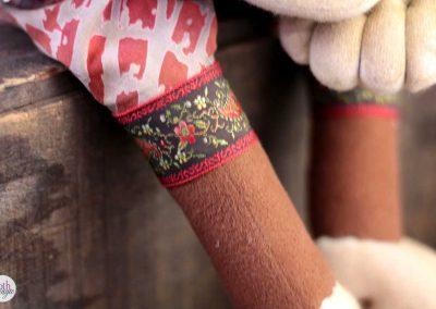 leopold the lion doll - cloth magic leg detail