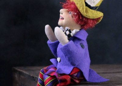 mad hatter doll - cloth magic