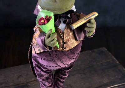 courting frog doll - cloth magic
