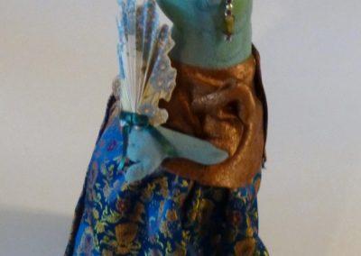courting frog art doll by karen shifton - 04